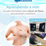 """""""Aprendiendo a vivir"""": jornada informativa sobre el cáncer de mama."""